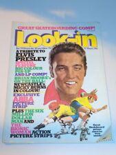 LOOK-IN BRITISH WEEKLY MAGAZINE #45 5TH NOVEMBER 1977 ELVIS PRESLEY ABBA