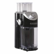 BLACK & DECKER COFFEE BURR GRINDER CBM310BD 8 GRIND SETTINGS ESPRESSO TESTED!