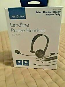 Insignia Landline Phone Hands free NS-MCHMRJ9P2 - OPEN BOX