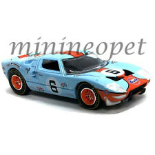 AUTOWORLD CP7483 1965 FORD GT 40 GULF OIL #6 1/64 DIECAST LIGHT BLUE