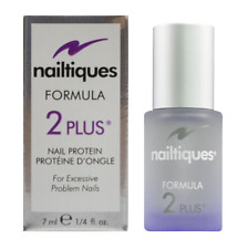 NEW IN BOX !! Nailtiques Formula 2 Plus-  Nail Protein 7ML/ .25 fl oz bottle