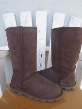 UGG Essential Tall Suede Sheepskin Classic Boots Chocolate 5US NIB $200 MSRP