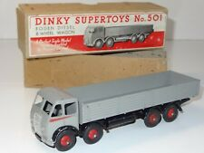(W) dinky FODEN DIESEL 8 WHEEL WAGON - 501 type 1