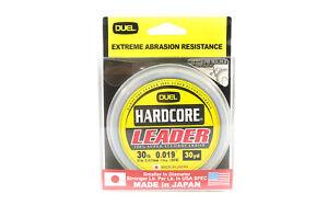 Yo Zuri Hardcore Fluorocarbon Leader 30yds 30lb 0.47mm R1254-NC (1088)