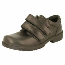 Leather Upper Wide Shoes for Boys