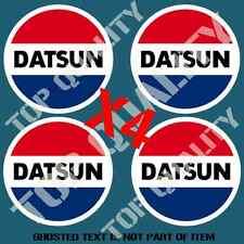 JDM VINTAGE DATSUN DECAL STICKER X4 CONCEPT RALLY DRIFT JAPANESE RETRO STICKERS