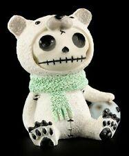 Furry Bones Figur - Polar Bear - Fun lustig Statue Furrybones Eisbär