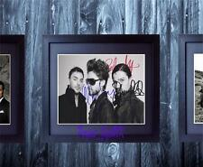 30 Seconds To Mars SIGNED AUTOGRAPHED FRAMED 10X8 REPRO PHOTO PRINT Jared Leto