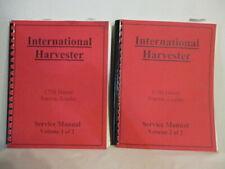 International Harvester 175b Diesel Loader Amp Td15b Crawler Service Manual