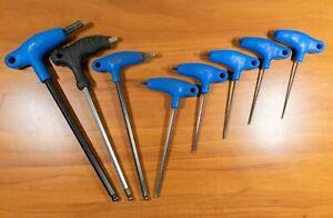 Park Tool P-Handle Hex Wrench Set | 2, 2.5, 3, 4, 5, 8, 8, 10 Metric Bike MTB