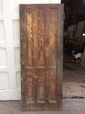 Antique Door New England 6 panel interior door 74 1/4 x 29 5/8