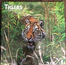 Tigers Wall Calendar 2020