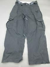 Mens Size M Black Ski Snowboard Snow Pants 974