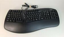 Belkin ERGOBOARD PRO KEYBOARD BLACK USB Keyboard Black (F8E887-BLK)