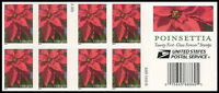 US 4816c Holiday Poinsettia forever booklet 20 S2222 MNH 2014