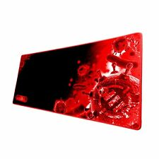 ENHANCE GX-MP2 XL Extended Gaming Mouse Pad with Low-Friction Surface - Red