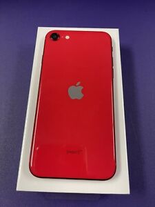 Apple iPhone SE 2nd Gen. (PRODUCT)RED - 64GB (Cricket Wireless) A2275 (CDMA +...