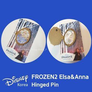 Disney Korea Frozen Frozen2 Limited Elsa Hinged Door Pin Doubleside