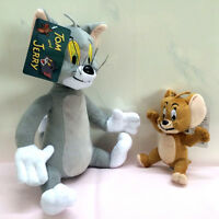 New Tom and Jerry Plush Doll Soft Cute Stuffed Cartoon Toy Anime Cat & Mouse