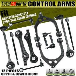 12pcs Control Arm Kits Front Lower Upper for Chrysler 300 C LE LX 2004-2012