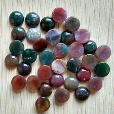 Wholesale 50pcs/lot natural india agate round shape CAB CABOCHON beads 12mm