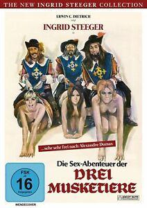 The Sex Adventures of the Three Musketeers - Ingrid Steeger - DVD -
