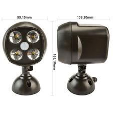 2PCS/Pack Wireless Montion sensor light outdoor garden Wall Lamp Leds Spotlight