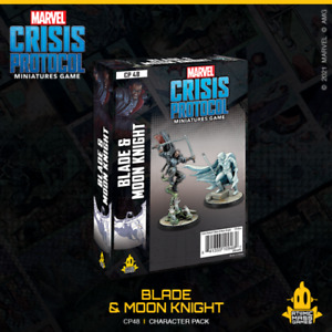 Marvel Crisis Protocol: Blade and Moon Knight Character Pack Pre Order Aug 13