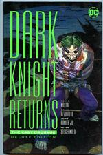 Dark Knight Returns: Last Crusade HC Deluxe Edition Frank Miller Batman DC NM