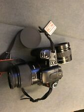 Sony Alpha A300 10.2MP Digital SLR Camera W/Lens, Case,Memory Card