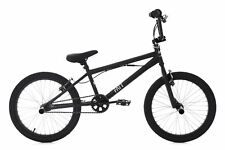 "20"" BMX Bike Freestyle Fahrrad Rad Fatt schwarz KS Cycling 655B"