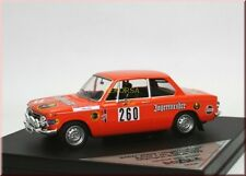BMW 2002 Jagermeister Olympia Rallye 1972 #260 rauque Dr Stokic Trofeu 1:43 le