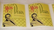 Mon Desir Dining Inn & Leopard Lounge Stickers Central Point Oregon 3 For $10