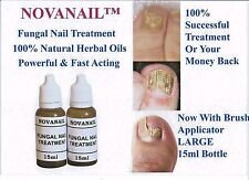 NOVANAIL  FUNGAL NAIL TREATMENT. NATURAL OILS FIGHTS FUNGUS 100% EFFECTIVE