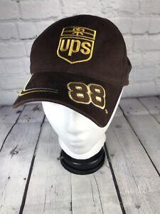 Dale Jarrett #88 UPS Brown Adjustable Hat NASCAR Racing Baseball Cap