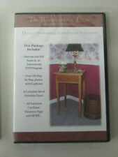 WOODWORKING DVD How to Build A Hepplewhite Nightstand NEW