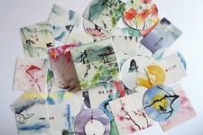 1 box 40 PCS Chinese landscape painting Scrapbooking  Paper deco diary stickers