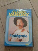 DVD CLAUDE VANONY : L'INTEGRALE NEUF SOUS SCELLO EQUIVALENT 3 VHS SPECTACLE 2H53