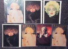 """Lot of 7 Madonna Post Cards Nm 4.25x6"""""""