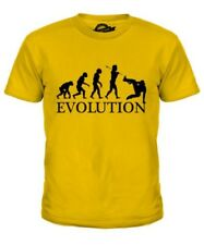 PARKOUR EVOLUTION OF MAN KIDS T-SHIRT TEE TOP GIFT FREE RUNNING