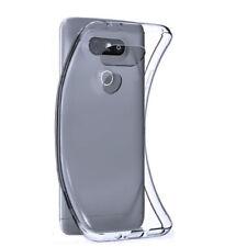 Fundas y carcasas liso de color principal transparente para teléfonos móviles y PDAs LG