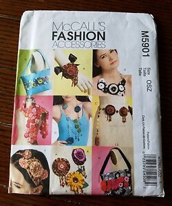 McCall's Fashion Accesories Sewing Pattern M5901 Uncut/Unused