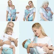 9 in1 Babytrage Kindertrage Bauchtrage Rückentrage 4 Tragpositionen Rucksack