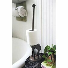 Giraffe Decorative Toilet Paper Holder - Free-Standing Bathroom Kitchen Storage