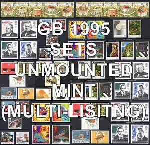 GB 1995 Commemorative Sets SG1848-1900 Unmounted Mint MNH (Multi-Listing)