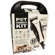 Professional PET CLIPPER PER CAPELLI 13PC Kit per la cura degli animali CANE GATTO pelo Trimmer Barba