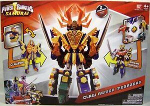Power Rangers Samurai Megazord Plus Clawzord Combime Equals Claw Armor Megazord!