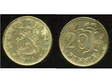 FINLANDE 20 pennia 1974  ( bis )
