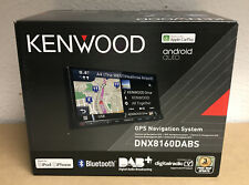 Kenwood DNX-8160DABS Double Din Car Sat Nav Screen Stereo Carplay Android Auto