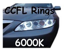 CCFL XENON ANGEL EYES HALO RINGS 6000K fit Mazda 6